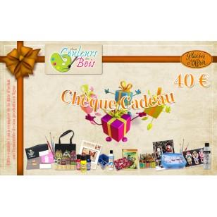 Chèque Cadeau - 40€