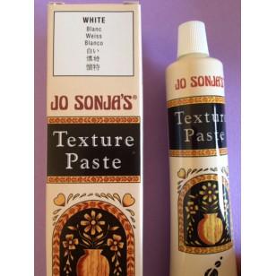 Pâte à texturer blanche