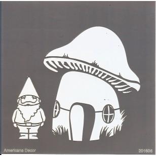 Pochoir Gnomes