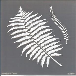 Pochoir - Botanique