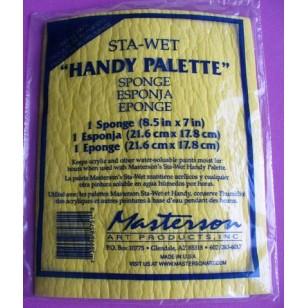 Eponge pour handy palette 8 1/2x7