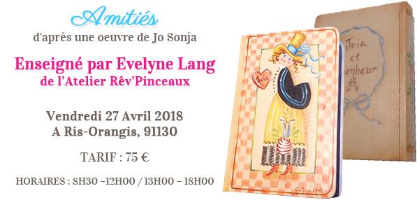 Stage peinture décorative - Amitiés de Jo Sonja