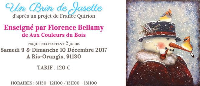 Stage peinture décorative - Un brin de Jasette