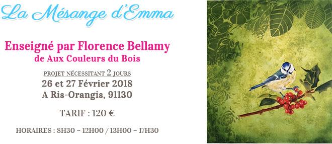 Stage peinture décorative - La Mésange d'Emma