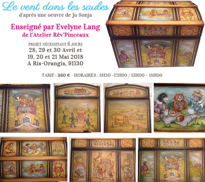 Stage peinture décorative - Le Vent dans les Saules