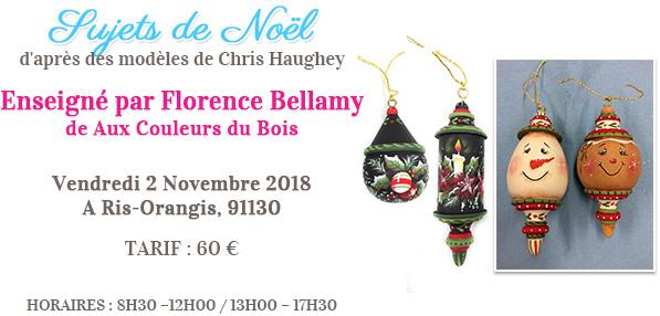 Stage peinture décorative - Sujets de Noël