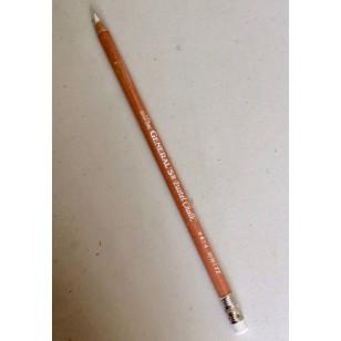 Crayon graphite blanc General avec gomme